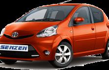 Rent a auto - Senzen - aygo