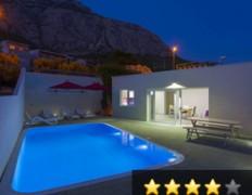 Ferienhaus mit beheiztem Pool - Makarska