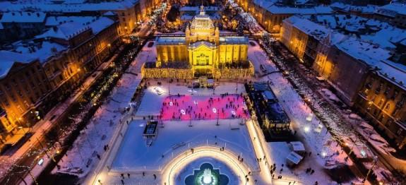 Zagreb im Advent 2020