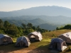 camping-at-mountain-with-tent-stock-photo