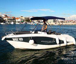 Rent a boat Okiboat Barracuda 5,45 - Vodice