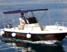 Rent a boat i scooter Contessa tours EN 21 open gliser