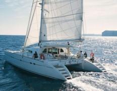 Sailing Europe - Najam katamarana