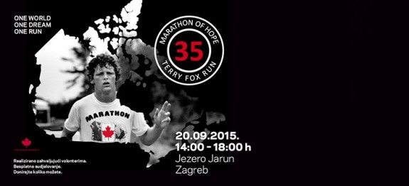 Terry Fox Run 2015 - Zagreb