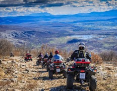 Najam skutera quada Off-road expedition Split