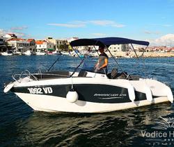 Rent a boat Okiboat Barracuda 5,45 - Vodice